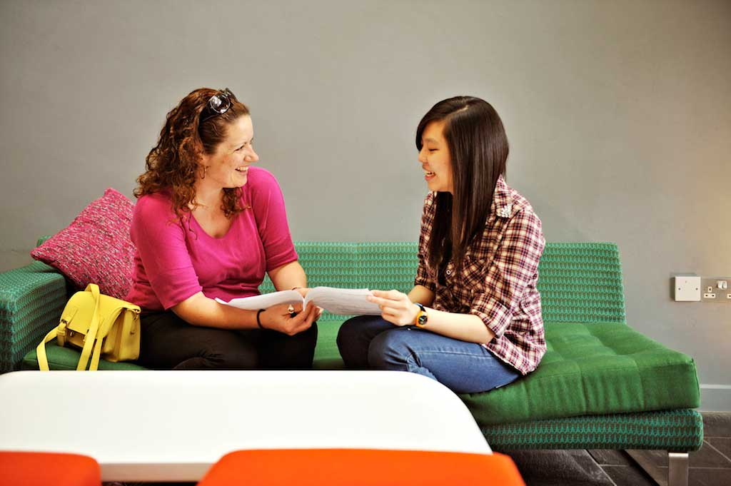 A personal tutor will provide both personal and academic support