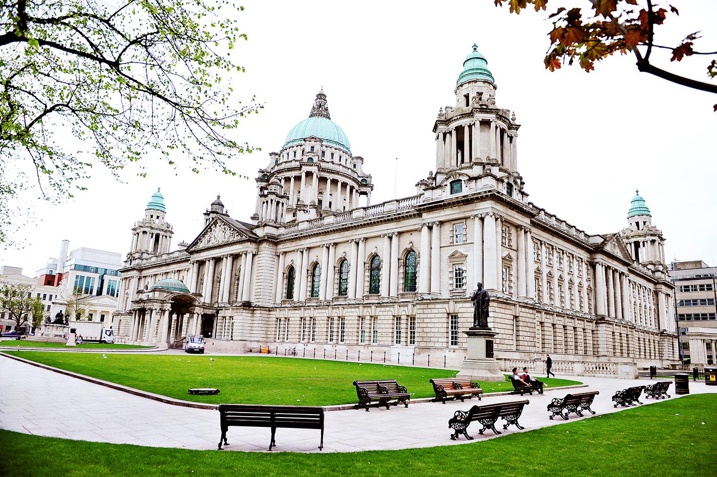 Belfast City Hall is one of the city's must-see landmarks