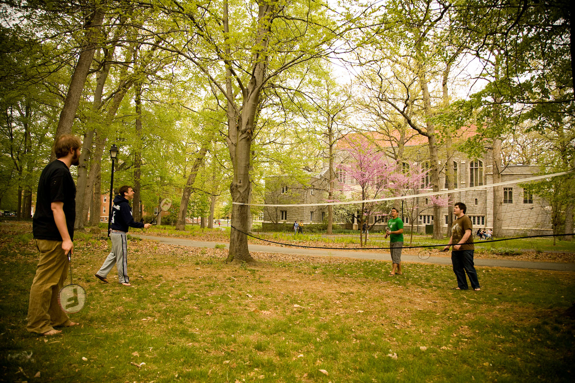 Turn our campus into your playground