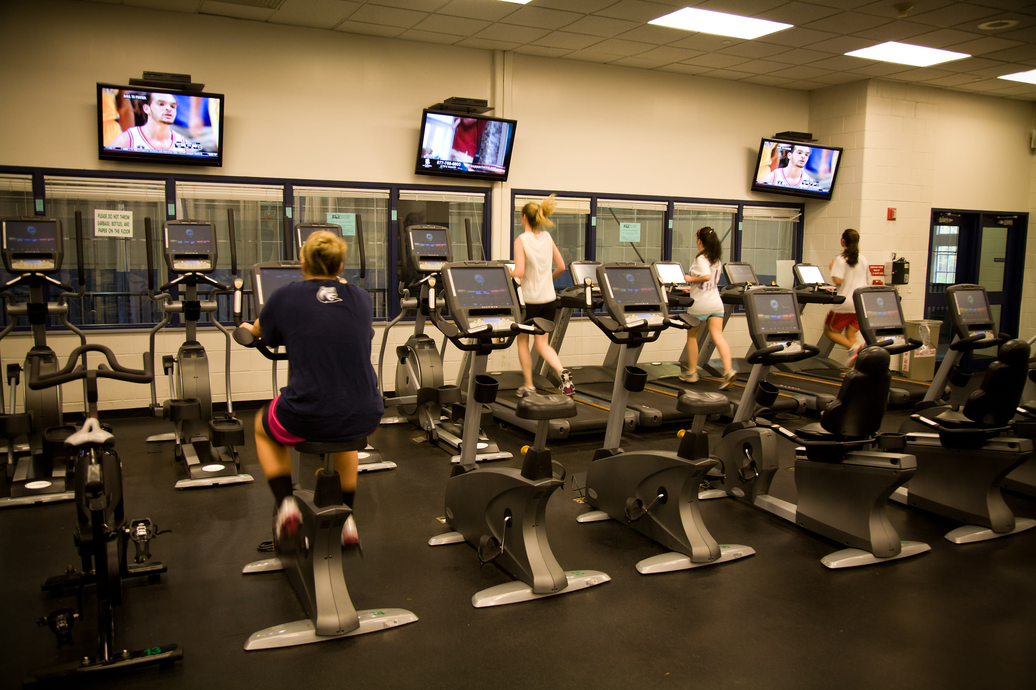 Enjoy free access to university gym