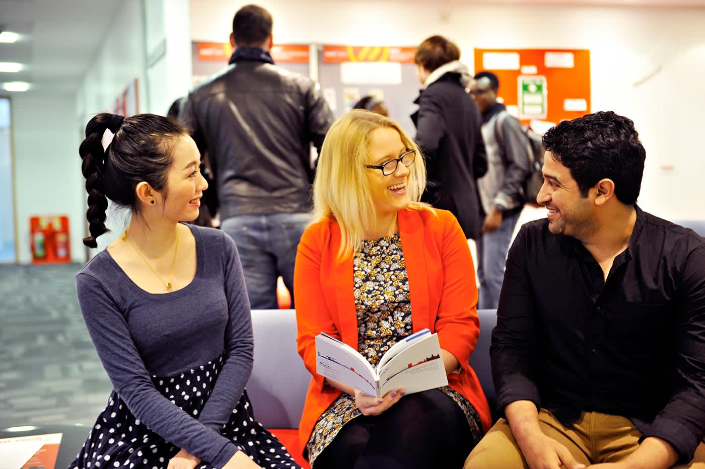 Get personal careers advice at the GCU Careers Centre