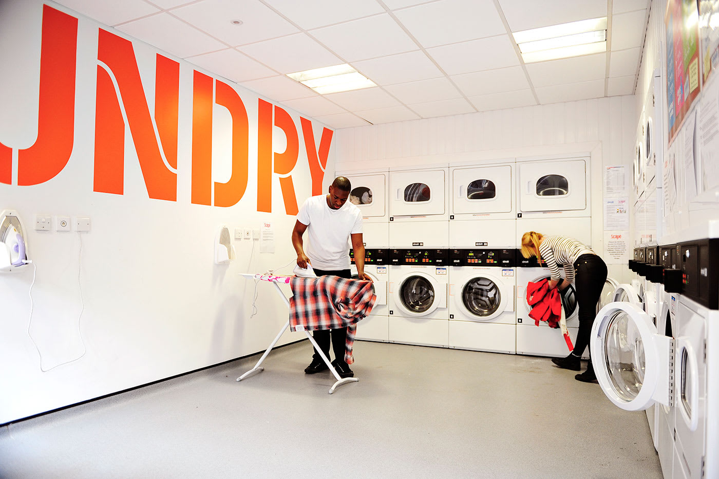 Laundry facilities at Scape