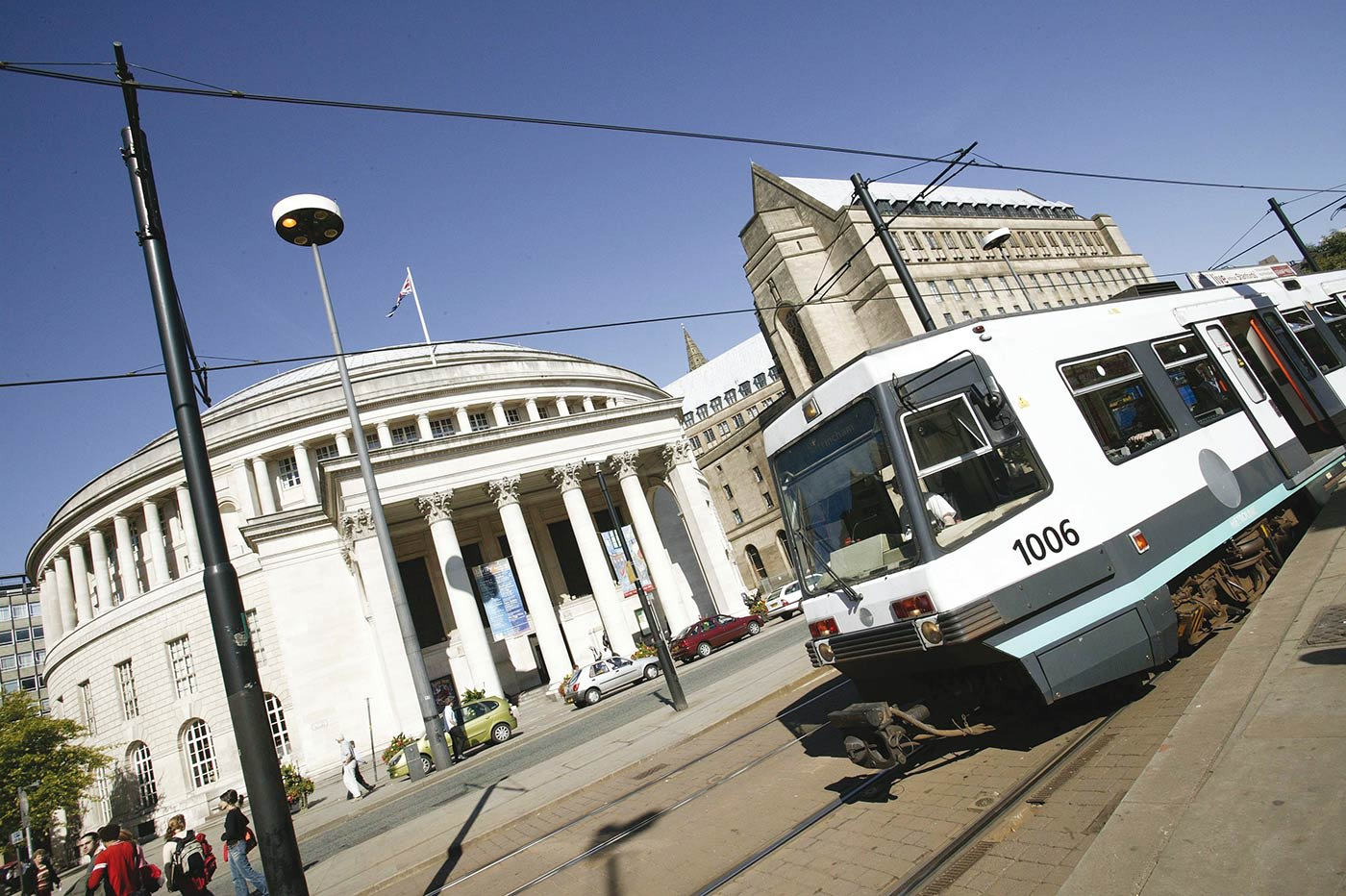 The convenient tram network is ideal for exploring more of the city