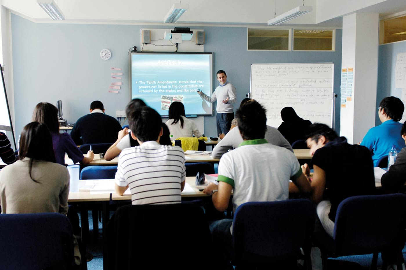 All of our English language courses are accredited by the British Council