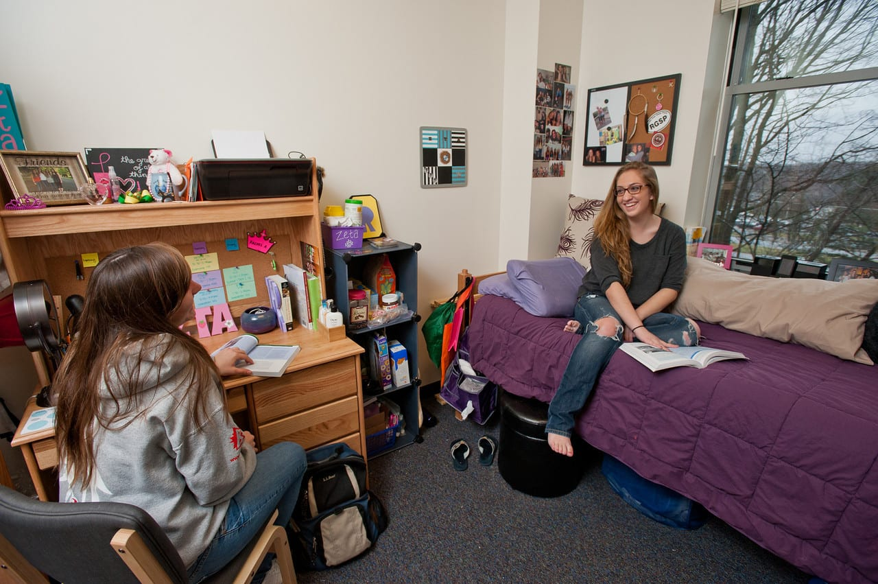 Make yourself at home in residence halls