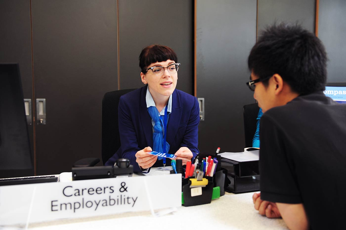 One-to-one help from careers and employability staff