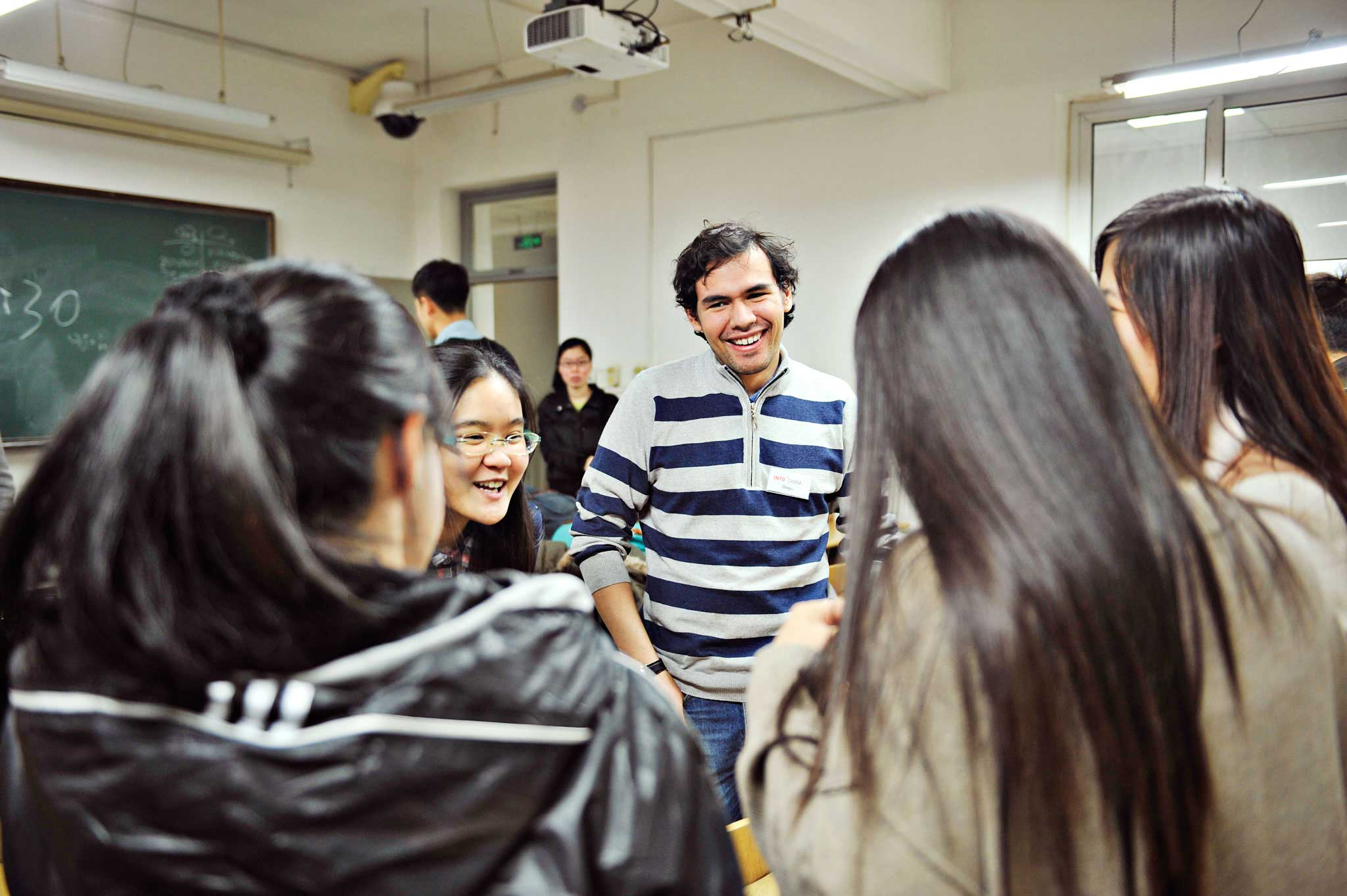 The international classroom brings fresh perspective to your studies