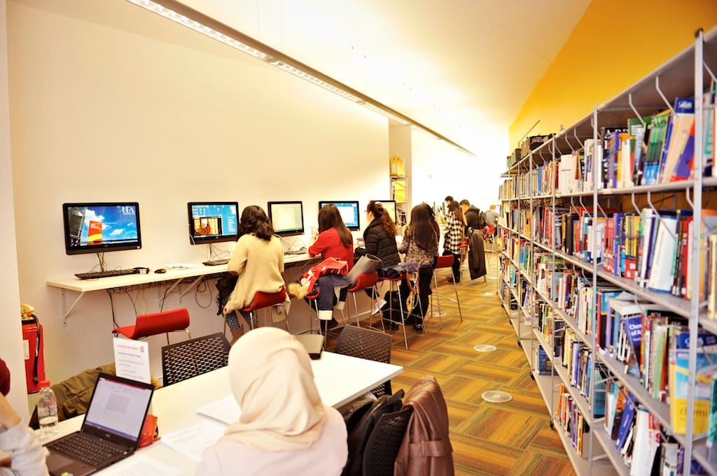 Browse books, journals and periodicals at the Learning Resource Centre