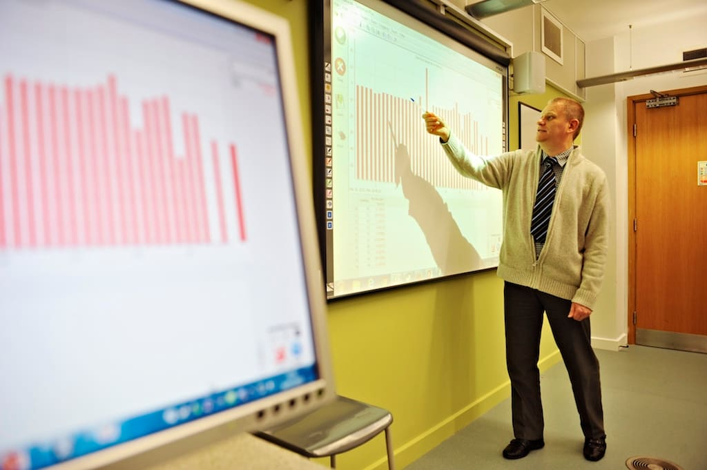 All your teachers are professionally qualified, many with PhDs