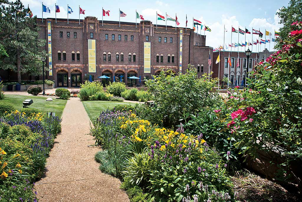 SLU is steps from the arts and entertainment district