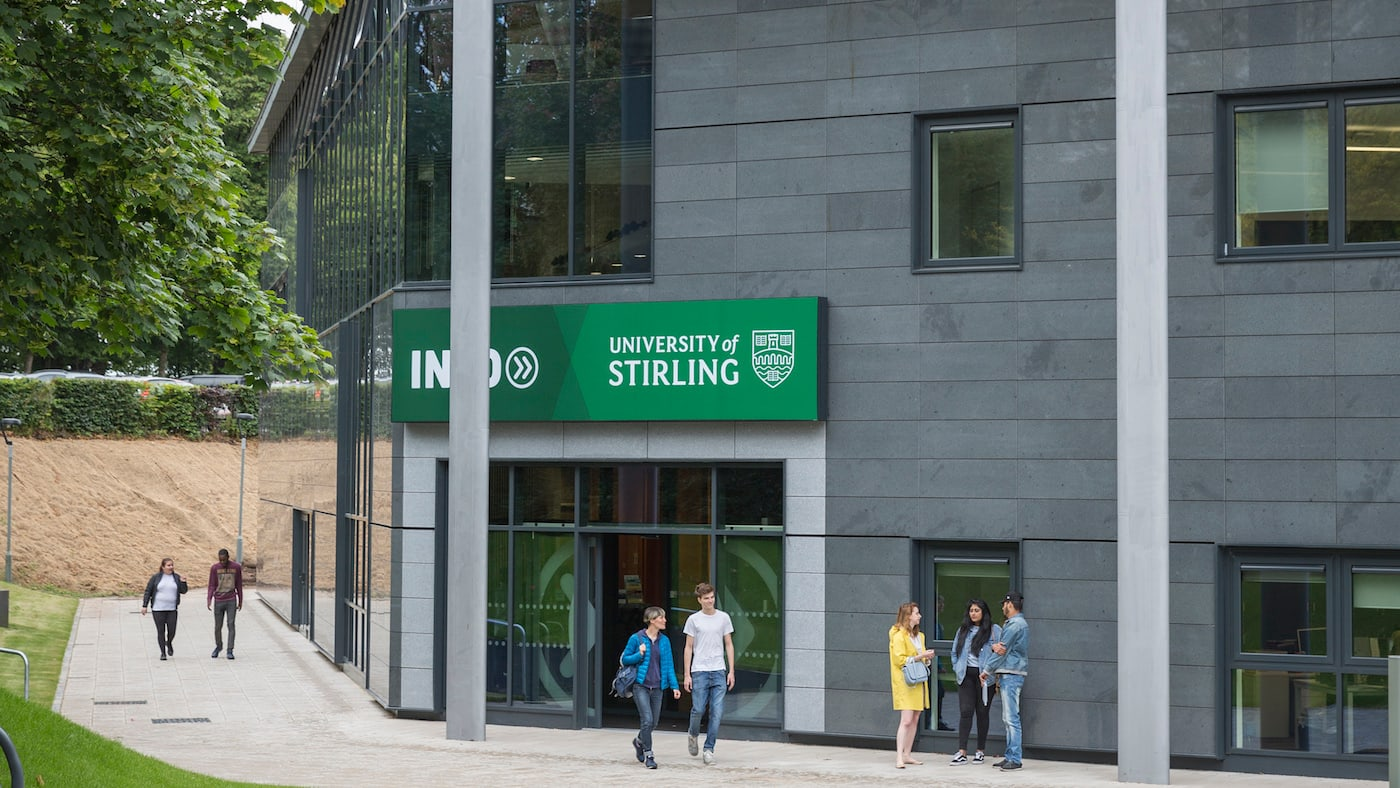 INTO Stirling study centre exterior