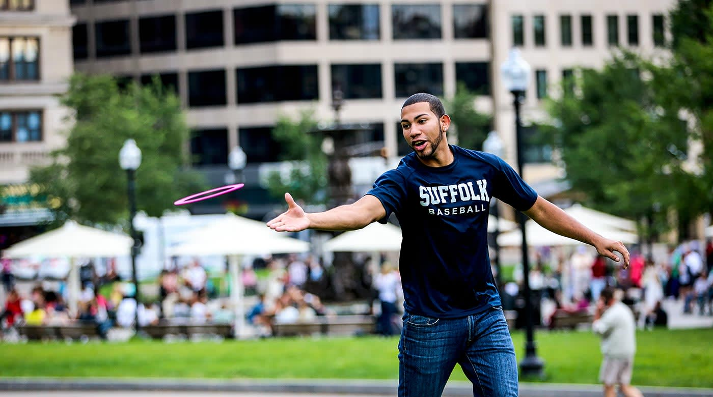 campus life at INTO Suffolk University