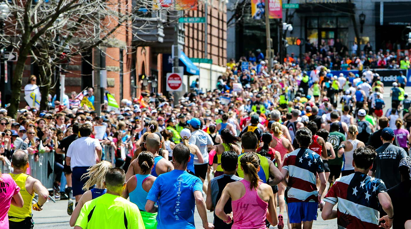 The Boston Marathon is a major event in the city
