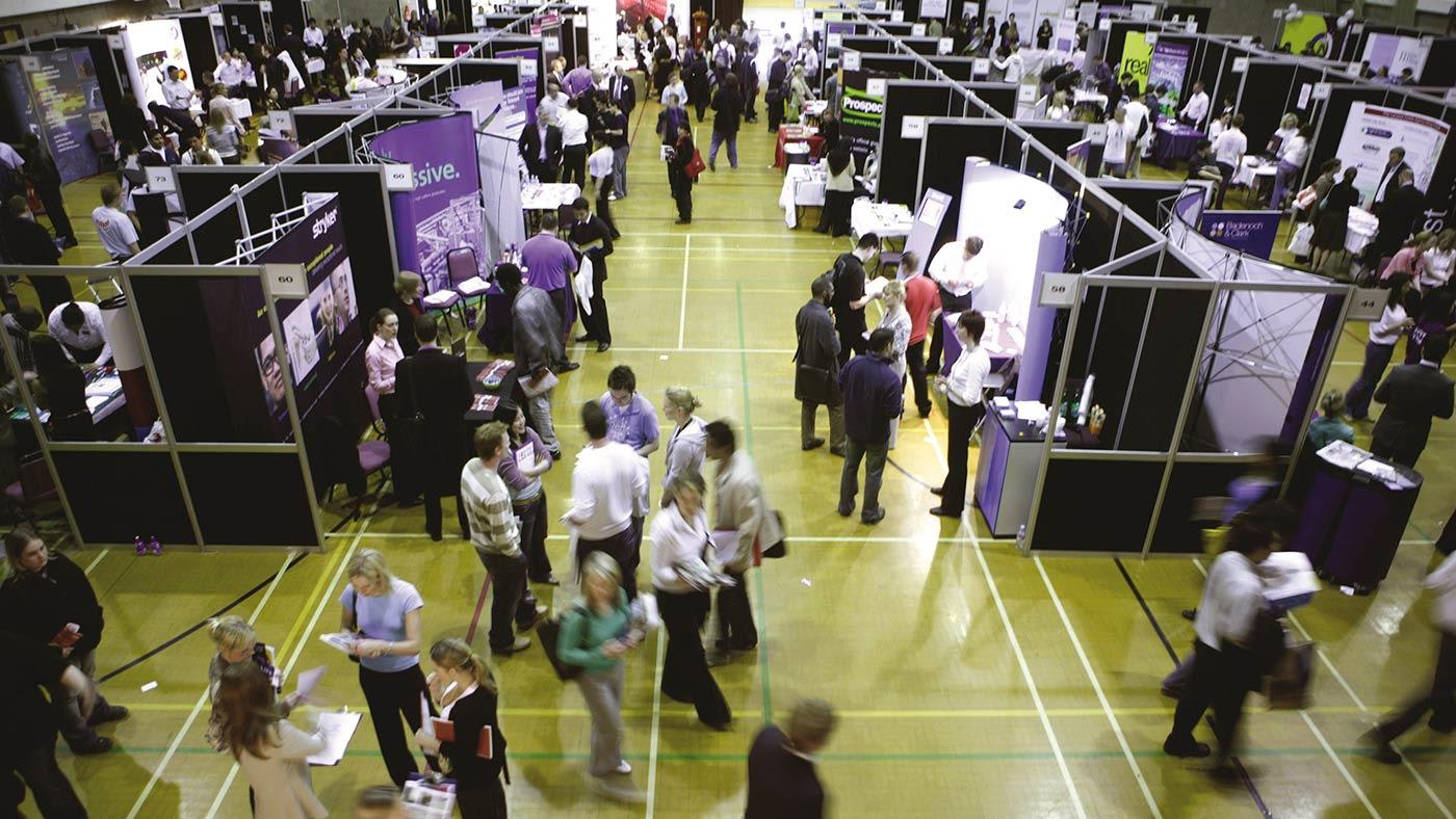 INTO Manchester in partnership with The University of Manchester support job fair