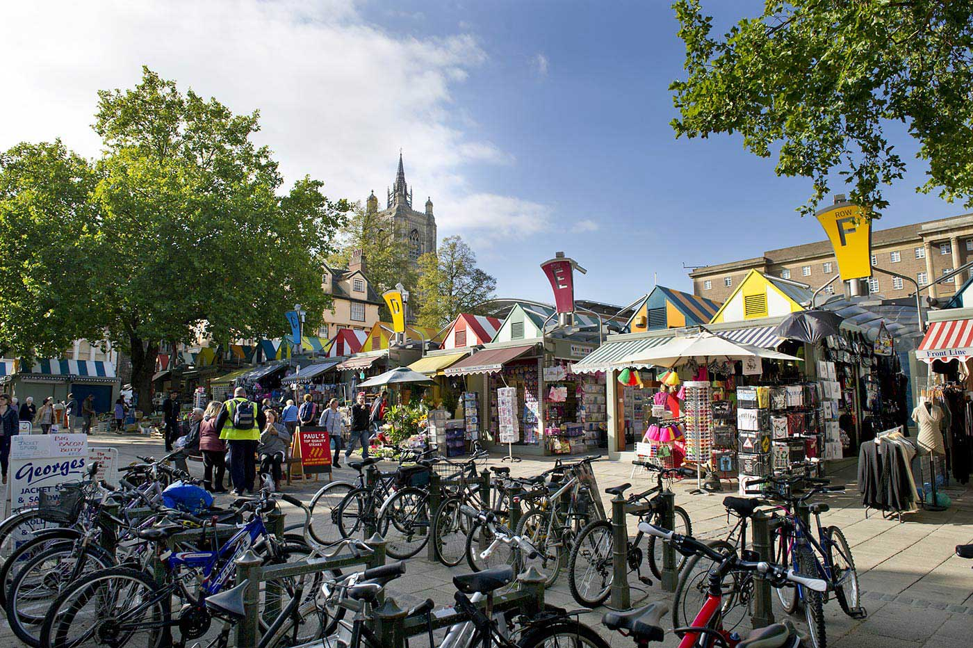 Explore the largest open-air market in England Explore the largest open-air market in England