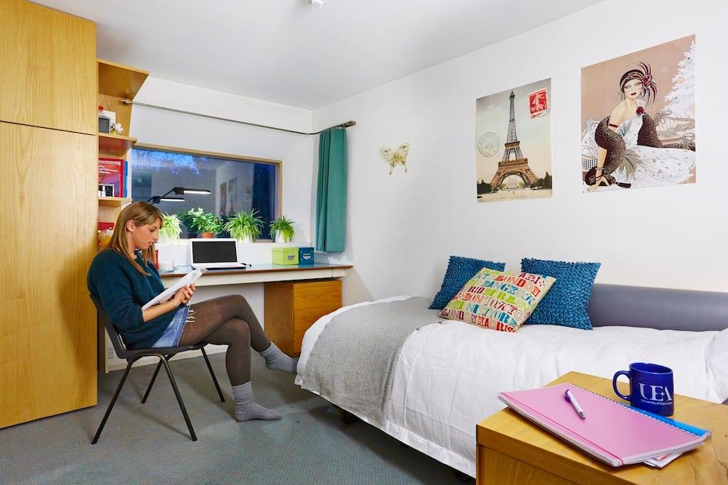 东英吉利大学确保你在第一年能入住学校公寓