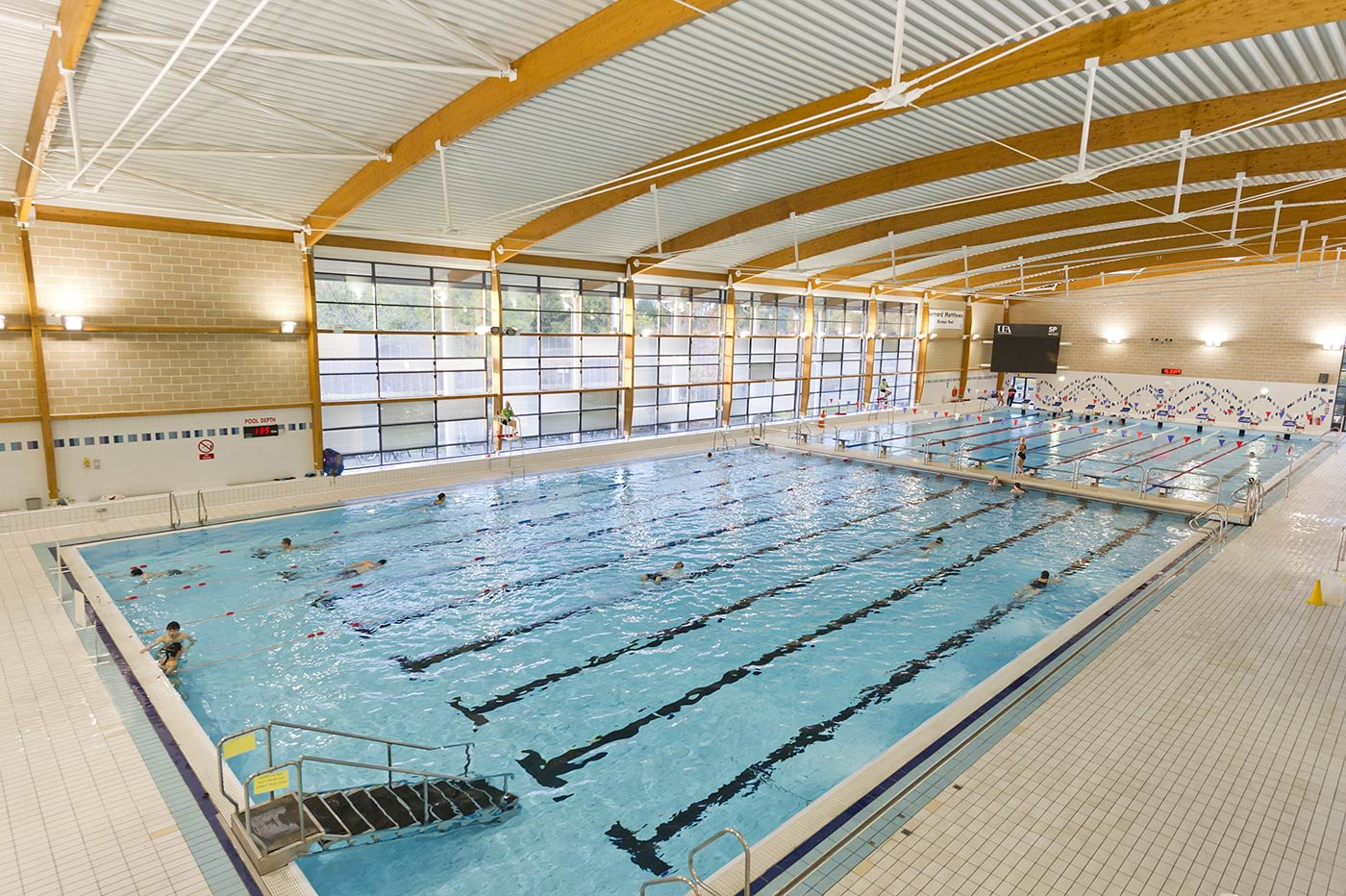 Enjoy the on-campus 50m Olympic-sized swimming pool