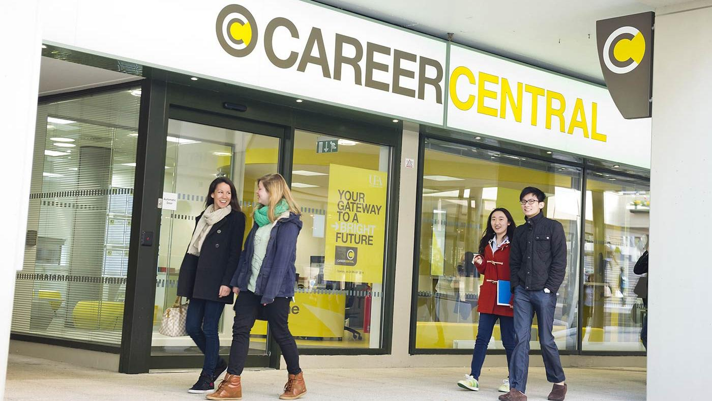 INTO UEA careers and working