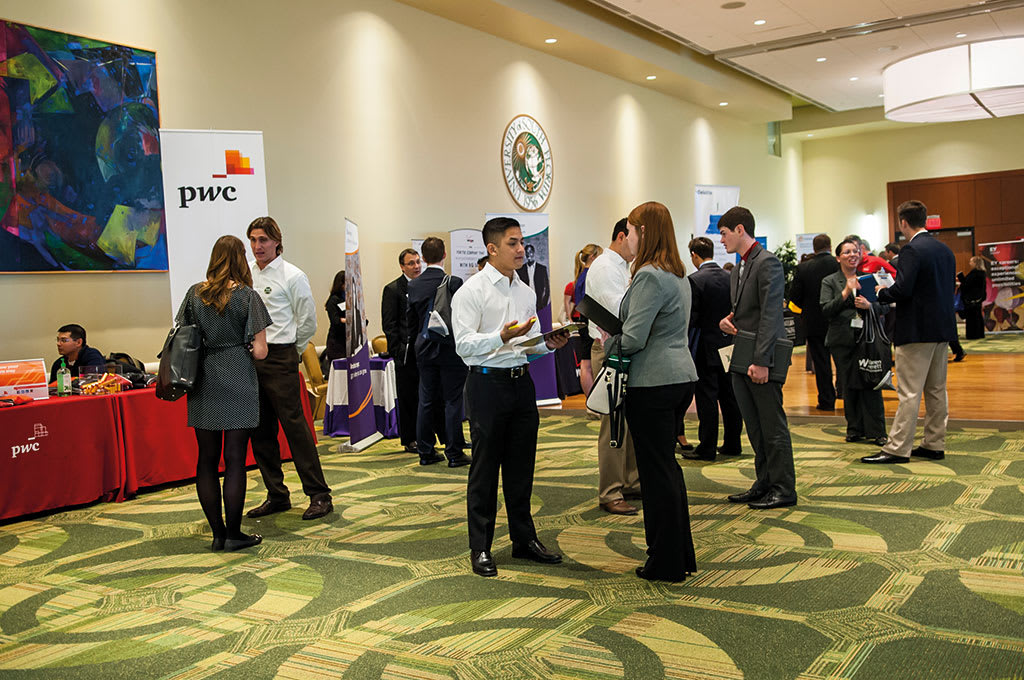 USF hosts various career fairs throughout the academic year