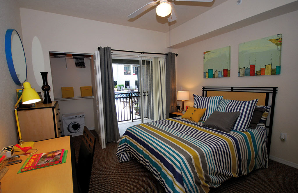 Off-campus apartments have plenty of amenities