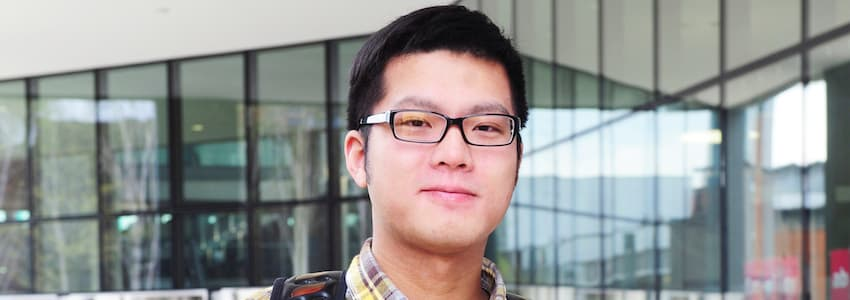 INTO Manchester Metropolitan University Wang Jun from China
