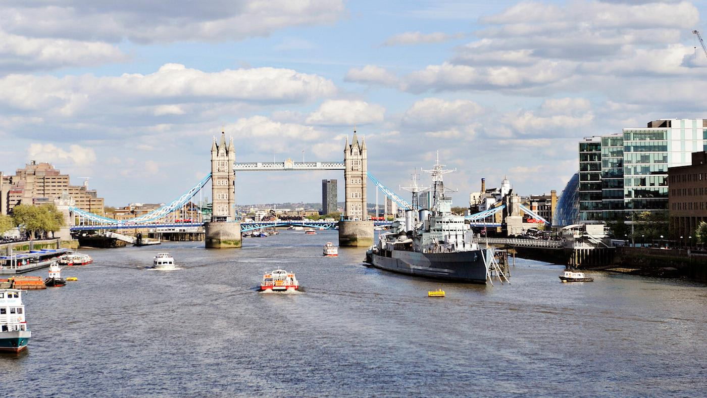 London Bridge and river