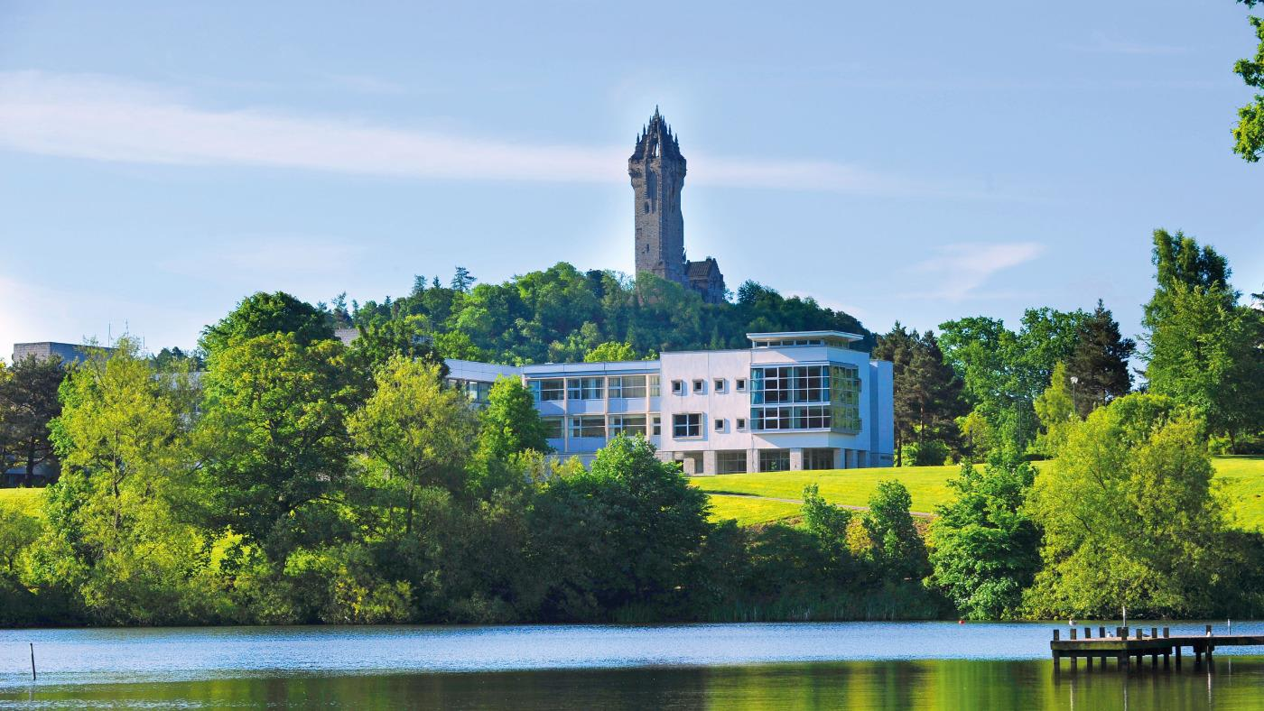 The Wallace Monument in Stirling