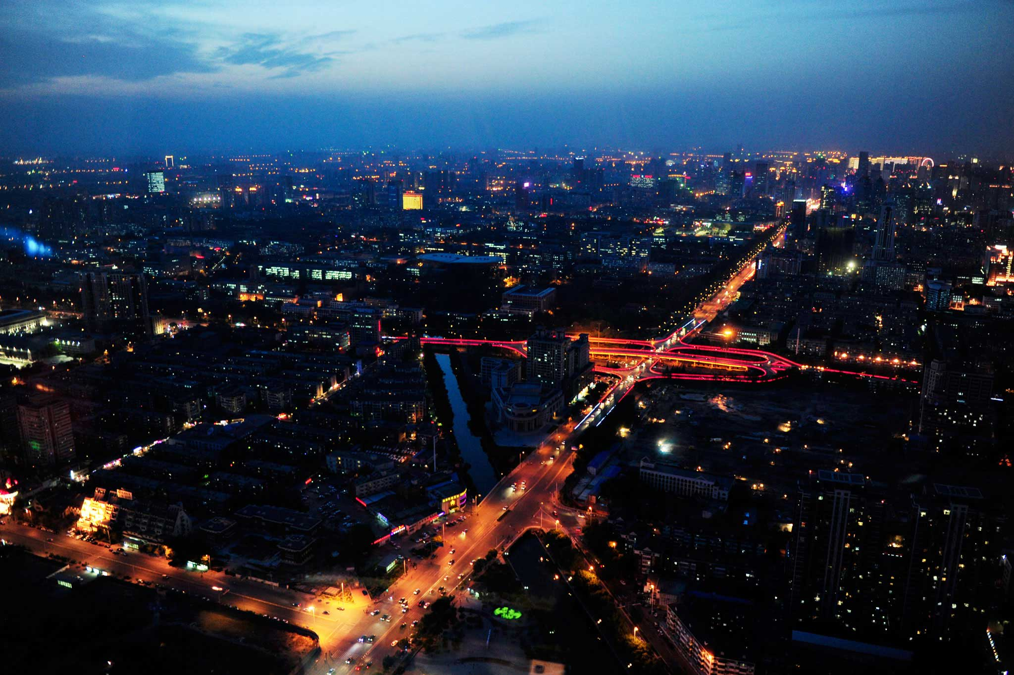 Tianjin is bigger than London, Rio or New York