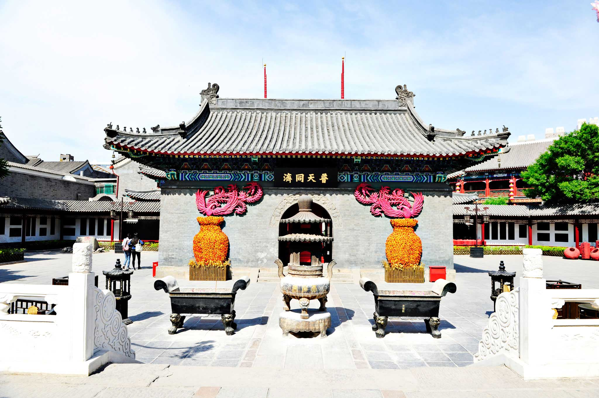 Temple in tianjin