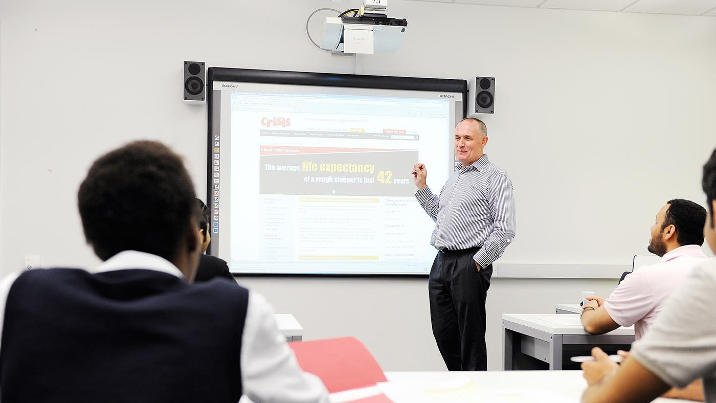 Teaching at City University London
