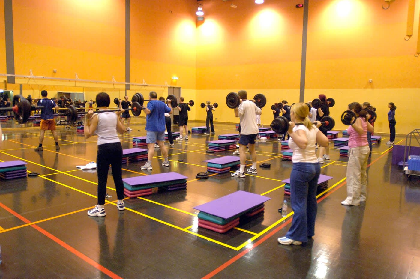 Take part in one of the free exercise classes