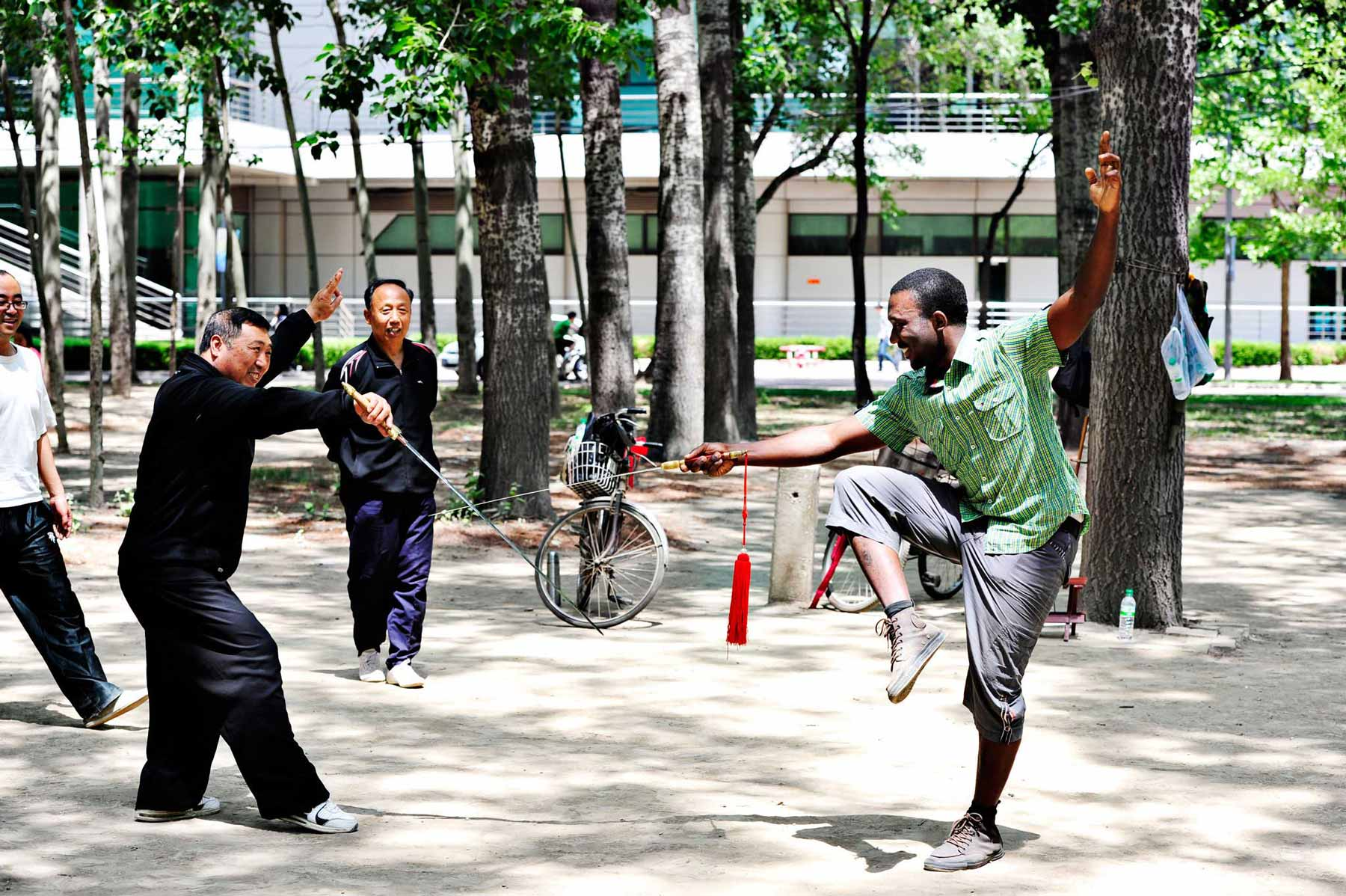 Try traditional martial arts