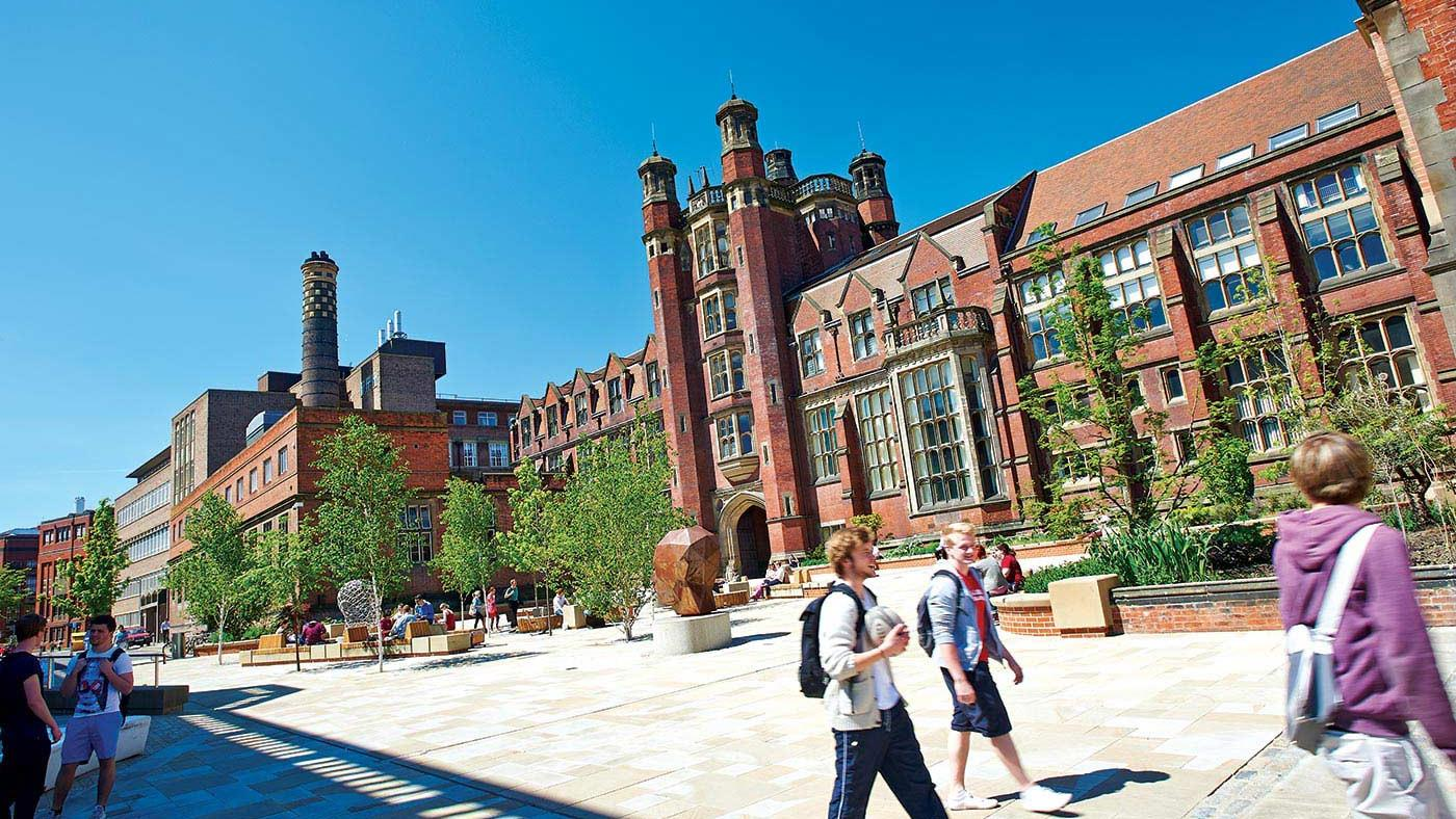 INTO Newcastle University campus