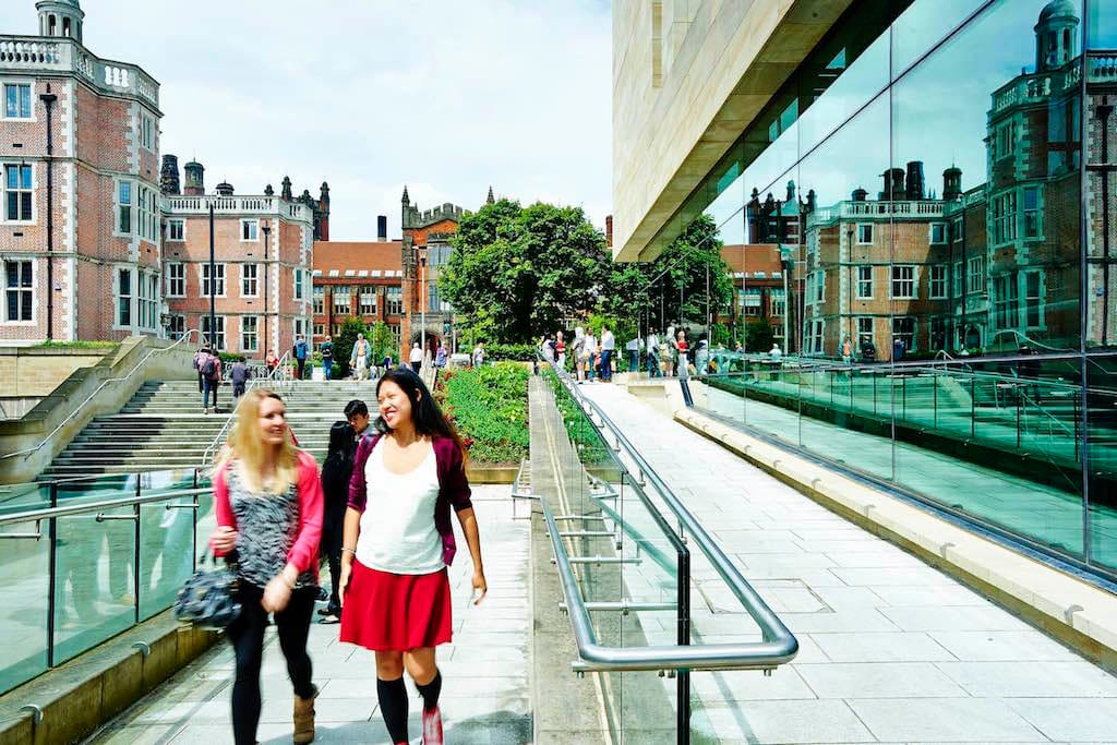 The campus is the perfect mix of historic and modern - a great place to learn