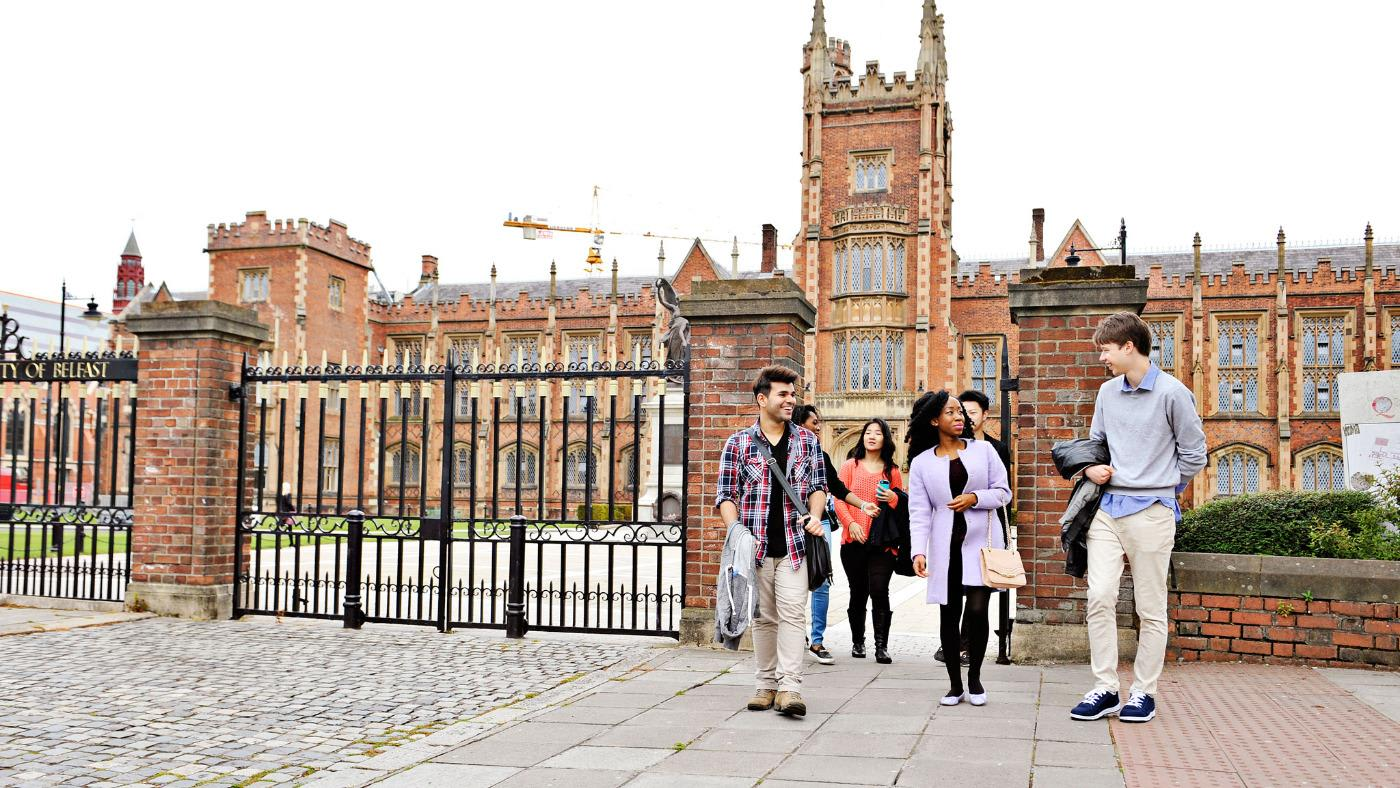INTO students at Queen's University Belfast