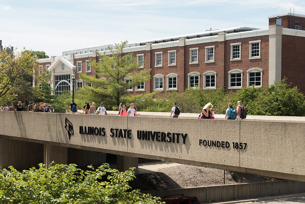Illinois State University was founded in 1857