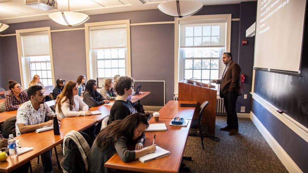 Drew University classroom