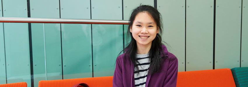 INTO Newton student story Cindy Anggrenia